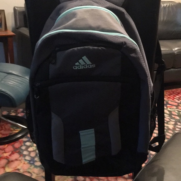 Adidas backpack spotless current colors.